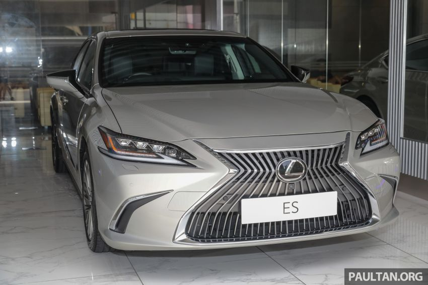GALLERY: New Lexus ES 250 Luxury – CBU, RM333k Image #980273