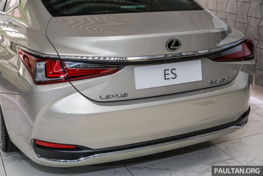 GALLERY: New Lexus ES 250 Luxury – CBU, RM333k Image #980291