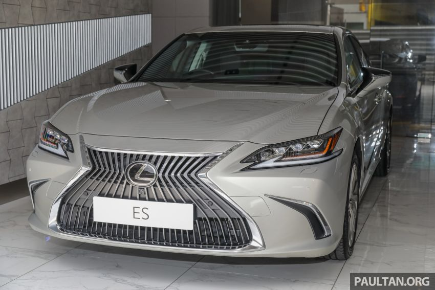 GALLERY: New Lexus ES 250 Luxury – CBU, RM333k Image #980274