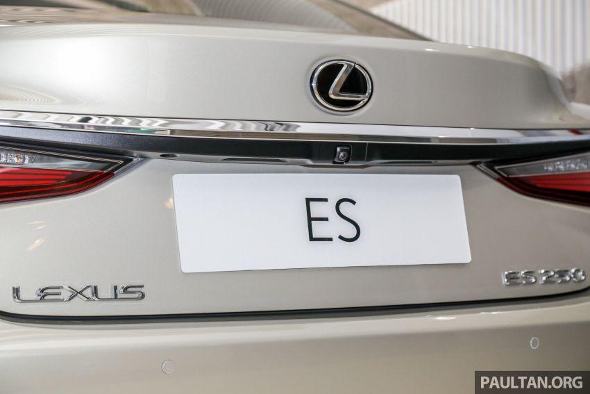 GALLERY: New Lexus ES 250 Luxury – CBU, RM333k Image #980294