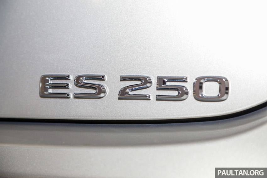GALLERY: New Lexus ES 250 Luxury – CBU, RM333k Image #980296