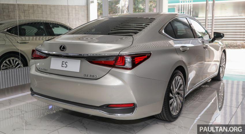 GALERI: Lexus ES 250 Luxury 2019 – dari RM332,888 Image #980309