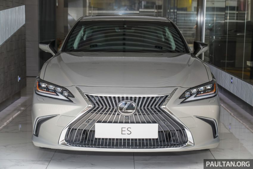 GALLERY: New Lexus ES 250 Luxury – CBU, RM333k Image #980278