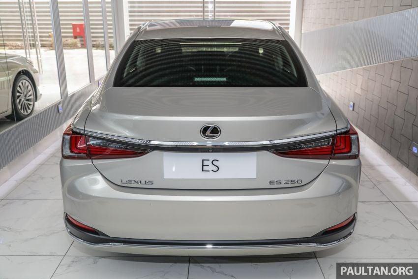 GALLERY: New Lexus ES 250 Luxury – CBU, RM333k Image #980279