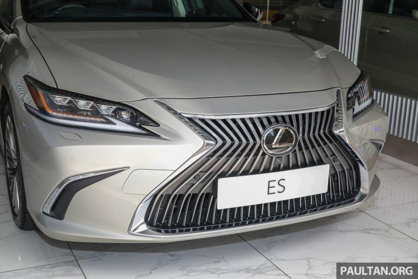 GALLERY: New Lexus ES 250 Luxury – CBU, RM333k Image #980280