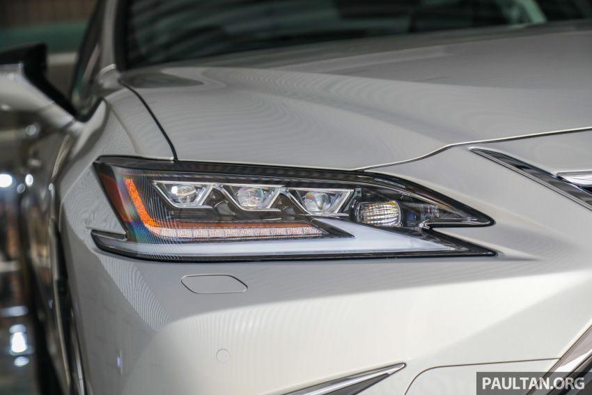 GALERI: Lexus ES 250 Luxury 2019 – dari RM332,888 Image #980323