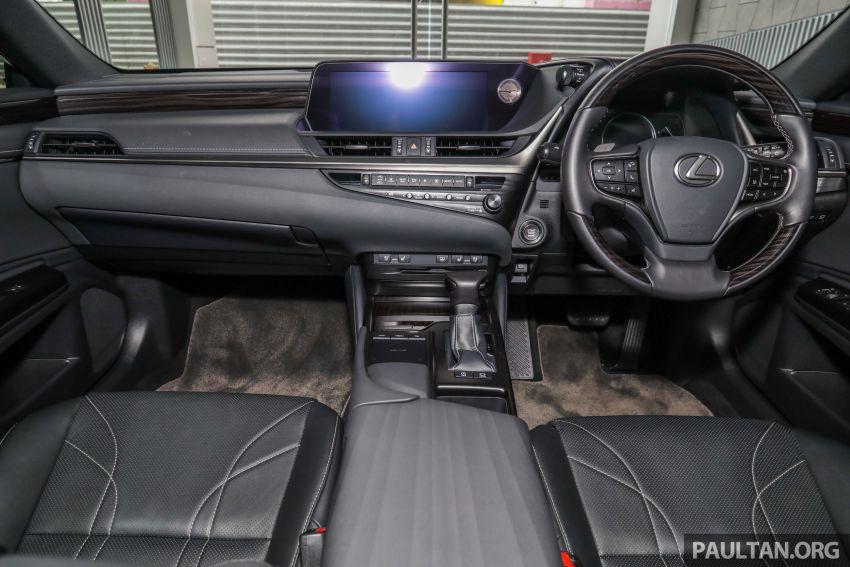 GALLERY: New Lexus ES 250 Luxury – CBU, RM333k Image #980300