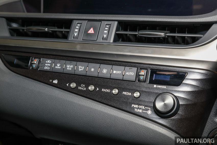 GALERI: Lexus ES 250 Luxury 2019 – dari RM332,888 Image #980381