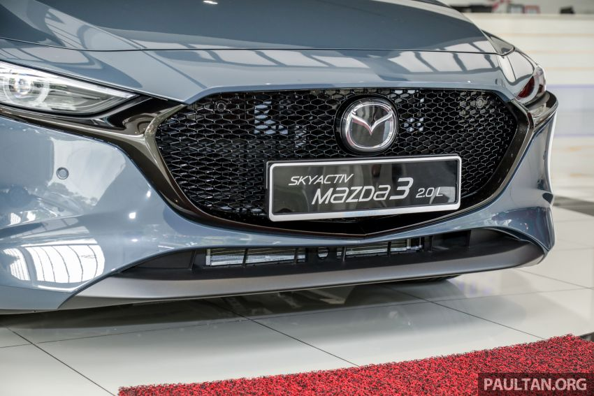 2019 Mazda 3 arrives at Malaysian showroom – 1.5L Sedan, 2.0L Hatchback High Plus; price from RM140k Image #982088