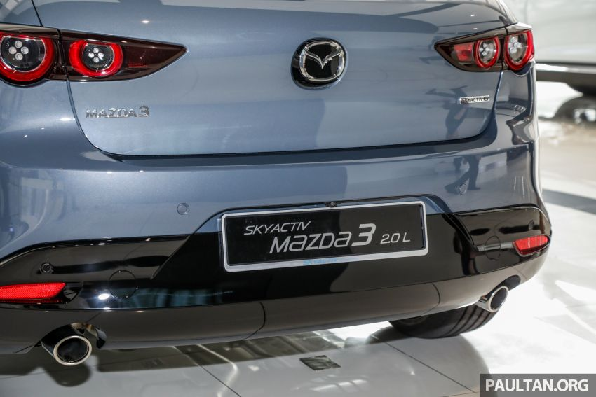 2019 Mazda 3 arrives at Malaysian showroom – 1.5L Sedan, 2.0L Hatchback High Plus; price from RM140k Image #982099