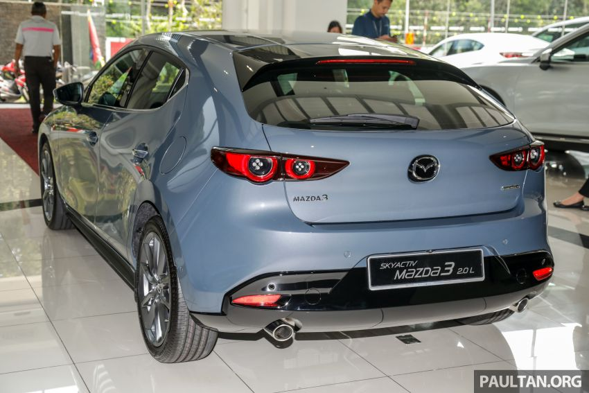 2019 Mazda 3 arrives at Malaysian showroom – 1.5L Sedan, 2.0L Hatchback High Plus; price from RM140k Image #982080