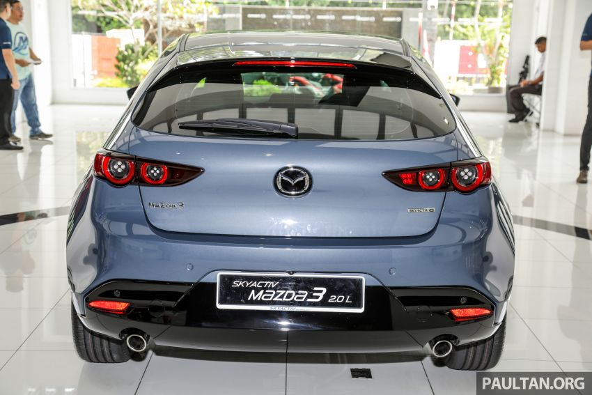2019 Mazda 3 arrives at Malaysian showroom – 1.5L Sedan, 2.0L Hatchback High Plus; price from RM140k Image #982082