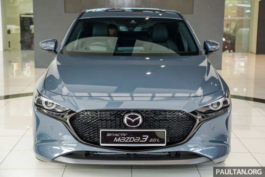 2019 Mazda 3 arrives at Malaysian showroom – 1.5L Sedan, 2.0L Hatchback High Plus; price from RM140k Image #982083