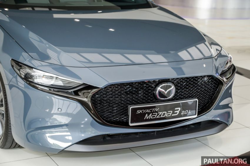 2019 Mazda 3 arrives at Malaysian showroom – 1.5L Sedan, 2.0L Hatchback High Plus; price from RM140k Image #982084