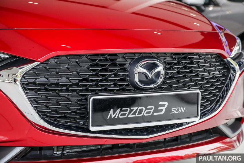 2019 Mazda 3 arrives at Malaysian showroom – 1.5L Sedan, 2.0L Hatchback High Plus; price from RM140k Image #982149
