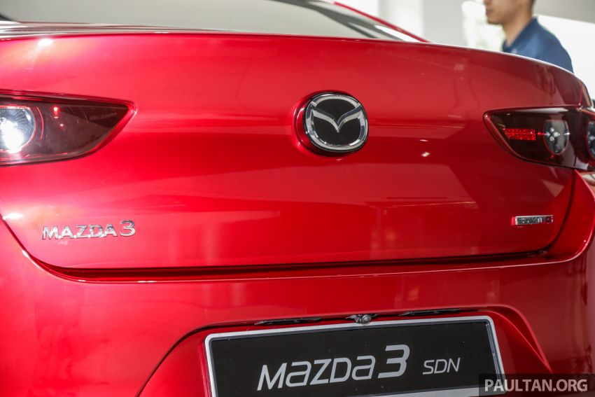 2019 Mazda 3 arrives at Malaysian showroom – 1.5L Sedan, 2.0L Hatchback High Plus; price from RM140k Image #982160