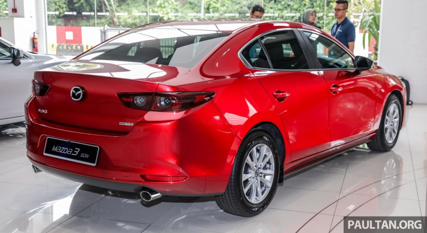 2019 Mazda 3 arrives at Malaysian showroom – 1.5L Sedan, 2.0L Hatchback High Plus; price from RM140k Image #982141