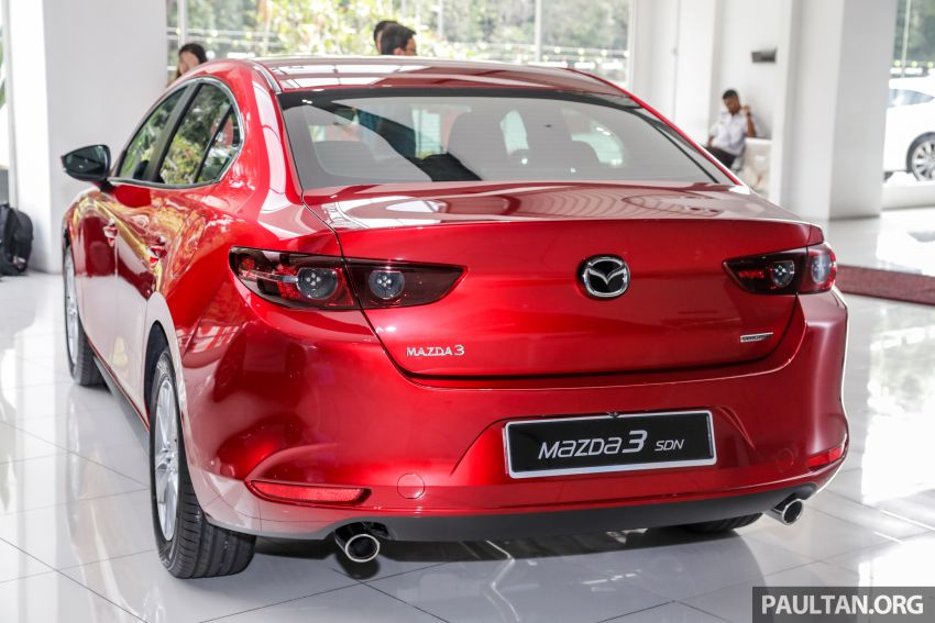 2019 Mazda 3 arrives at Malaysian showroom – 1.5L Sedan, 2.0L Hatchback High Plus; price from RM140k Image #982142