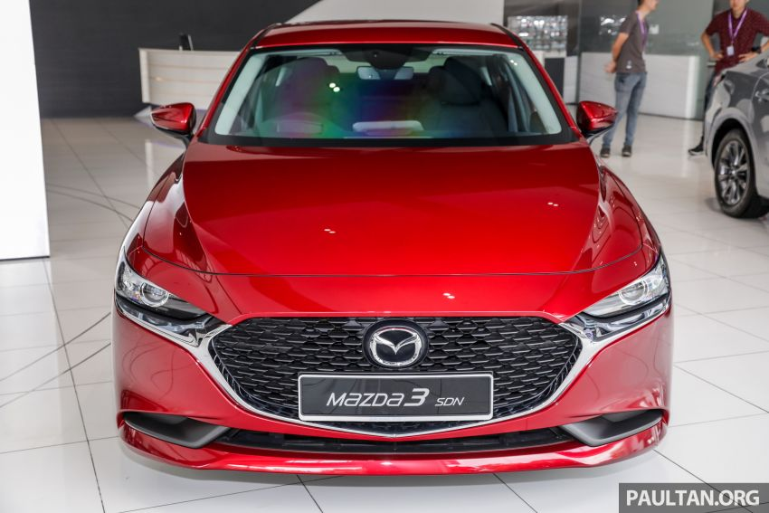2019 Mazda 3 arrives at Malaysian showroom – 1.5L Sedan, 2.0L Hatchback High Plus; price from RM140k Image #982144