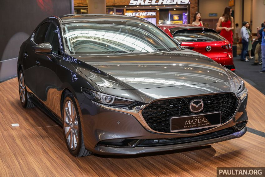 2019 Mazda 3 launched in Malaysia – hatchback and sedan; three variants; price from RM140k to RM160k Image #987333