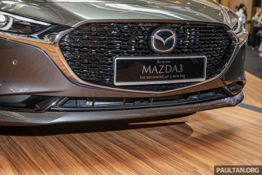 2019 Mazda 3 launched in Malaysia – hatchback and sedan; three variants; price from RM140k to RM160k Image #987356