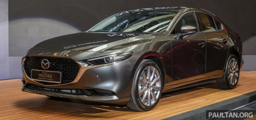 2019 Mazda 3 launched in Malaysia – hatchback and sedan; three variants; price from RM140k to RM160k Image #987335