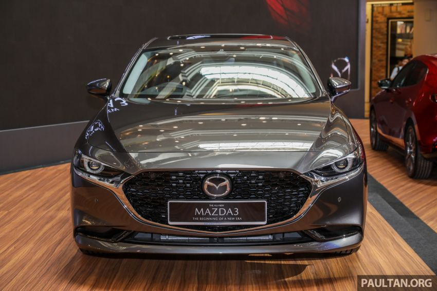2019 Mazda 3 launched in Malaysia – hatchback and sedan; three variants; price from RM140k to RM160k Image #987343