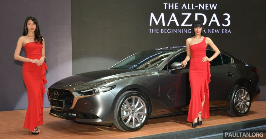 2019 Mazda 3 launched in Malaysia – hatchback and sedan; three variants; price from RM140k to RM160k Image #987261