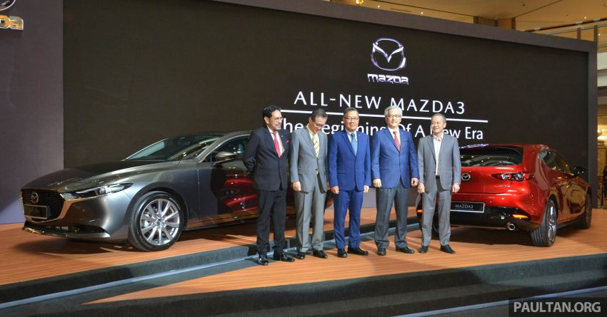 2019 Mazda 3 launched in Malaysia – hatchback and sedan; three variants; price from RM140k to RM160k Image #987262