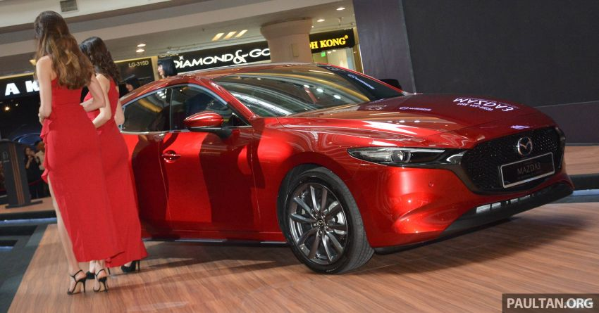 2019 Mazda 3 launched in Malaysia – hatchback and sedan; three variants; price from RM140k to RM160k Image #987294