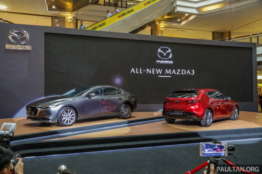 2019 Mazda 3 launched in Malaysia – hatchback and sedan; three variants; price from RM140k to RM160k Image #987309