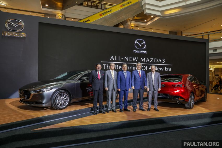 2019 Mazda 3 launched in Malaysia – hatchback and sedan; three variants; price from RM140k to RM160k Image #987314