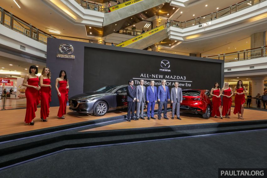 2019 Mazda 3 launched in Malaysia – hatchback and sedan; three variants; price from RM140k to RM160k Image #987316