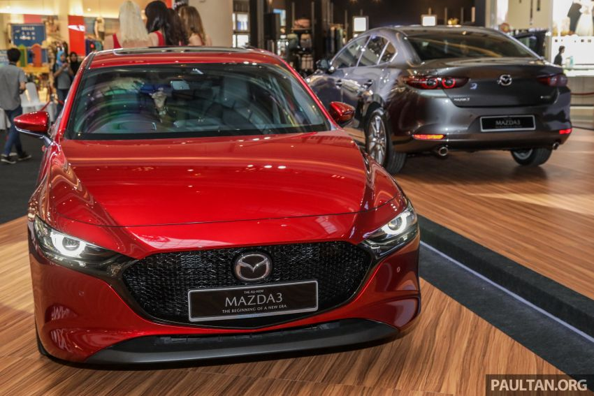 2019 Mazda 3 launched in Malaysia – hatchback and sedan; three variants; price from RM140k to RM160k Image #987493