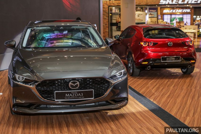 2019 Mazda 3 launched in Malaysia – hatchback and sedan; three variants; price from RM140k to RM160k Image #987495