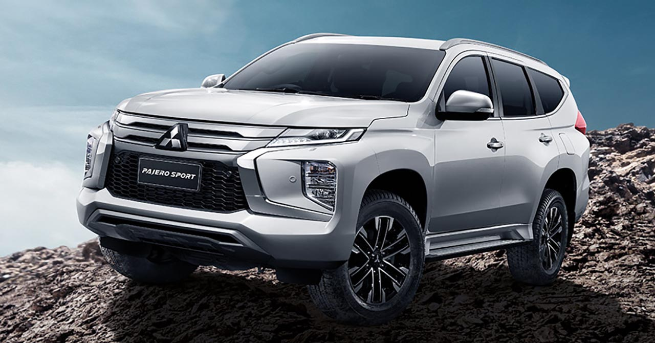 2019 Mitsubishi Pajero Sport debuts in Thailand - new look