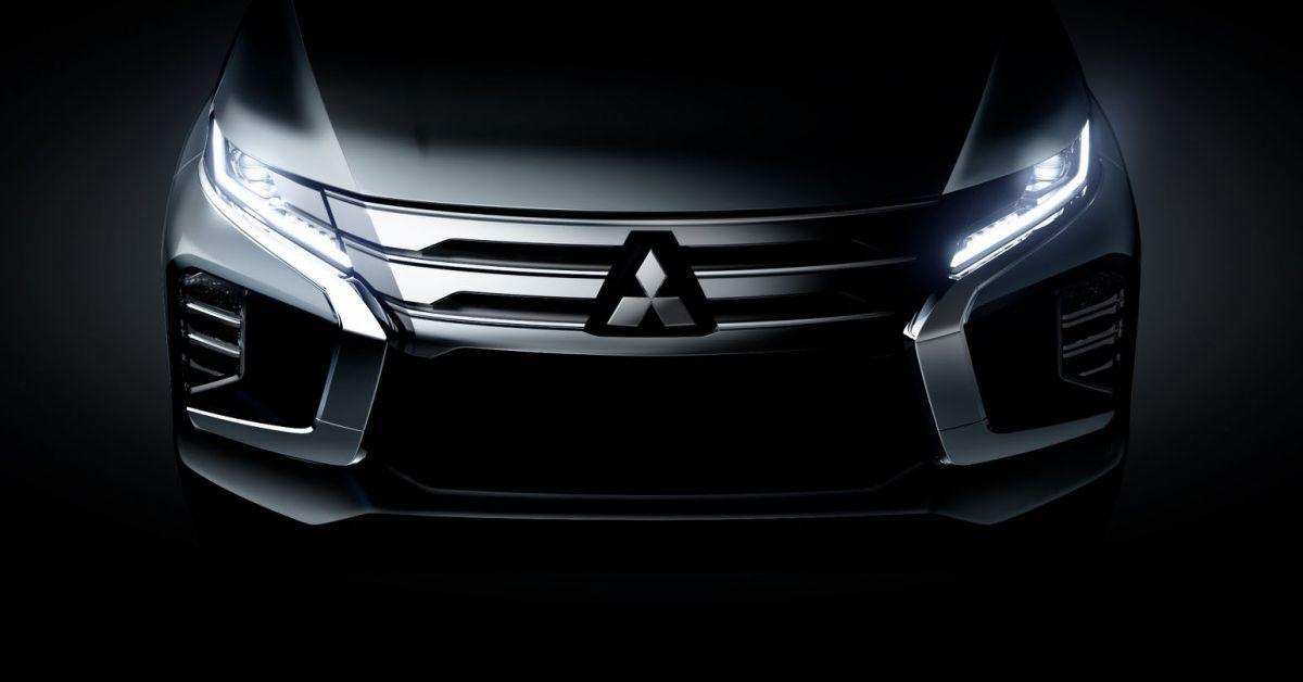 2019 Mitsubishi Pajero Sport teased - July 25 debut
