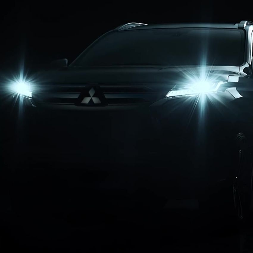 2019 Mitsubishi Pajero Sport teased – July 25 debut Image #983921