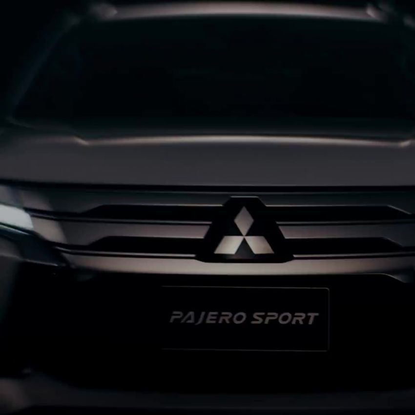 2019 Mitsubishi Pajero Sport teased – July 25 debut Image #983925