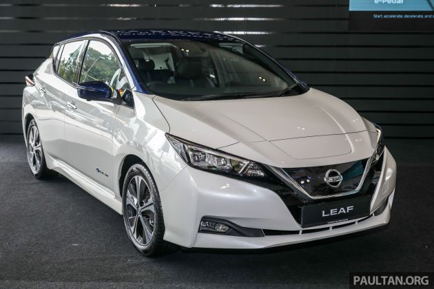 2019 Nissan Leaf Launched In Malaysia From Rm189k
