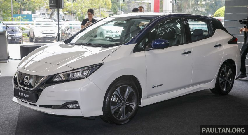 2019 Nissan Leaf launched in Malaysia – from RM189k Image #991216