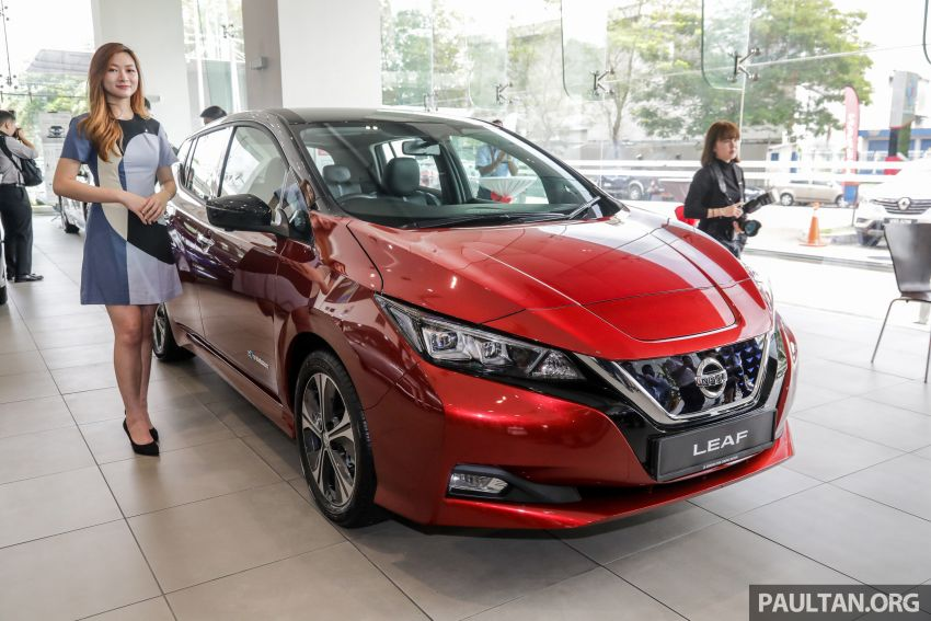 2019 Nissan Leaf launched in Malaysia – from RM189k Image #991246