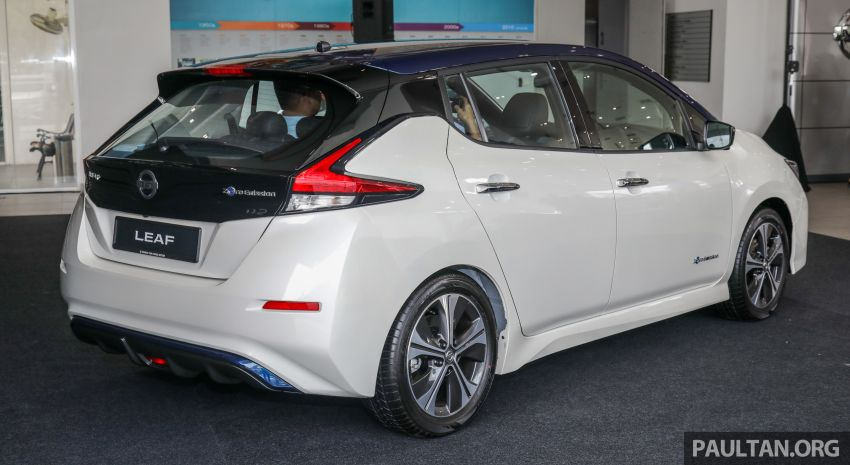 2019 Nissan Leaf launched in Malaysia – from RM189k Image #991217