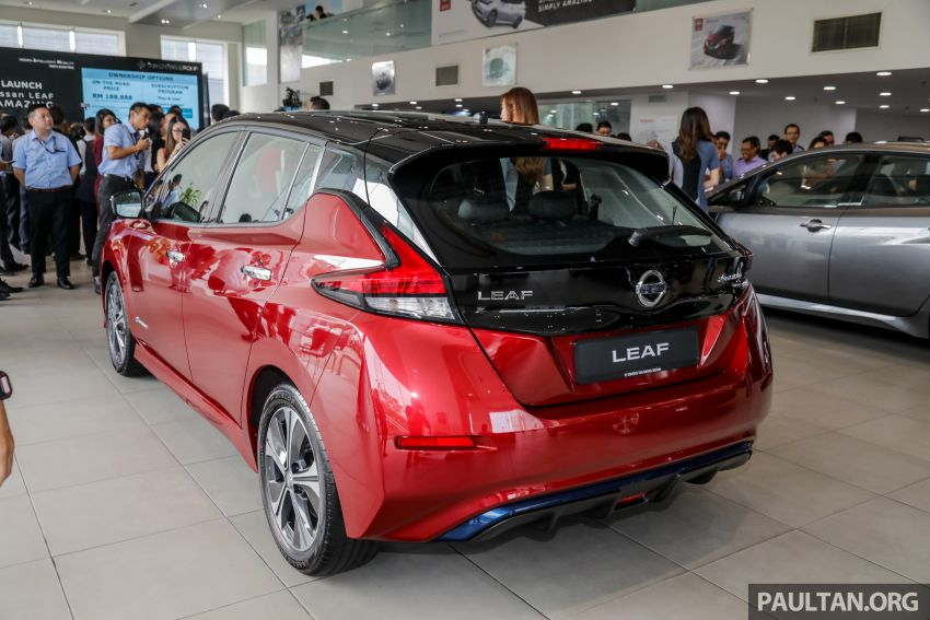2019 Nissan Leaf launched in Malaysia – from RM189k Image #991247