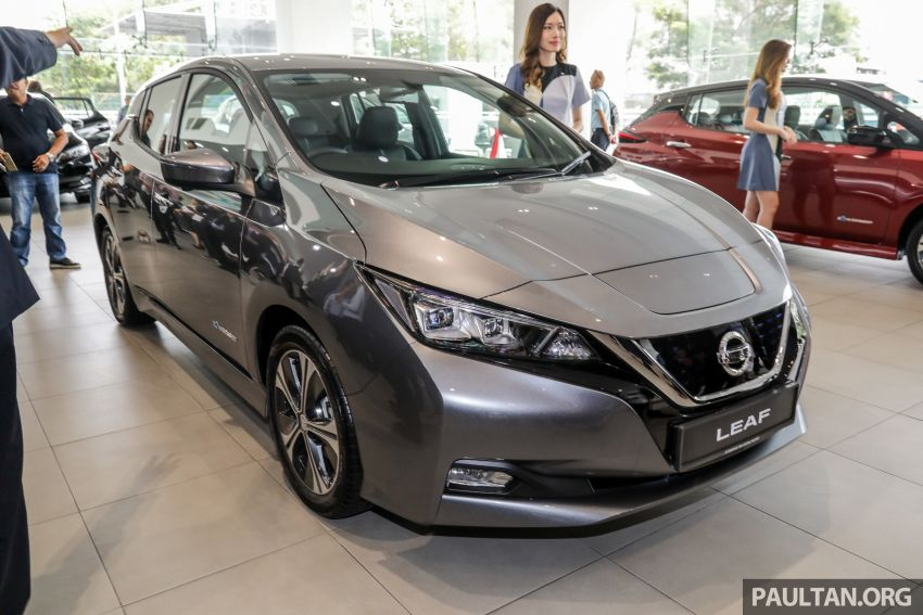 2019 Nissan Leaf launched in Malaysia – from RM189k Image #991248