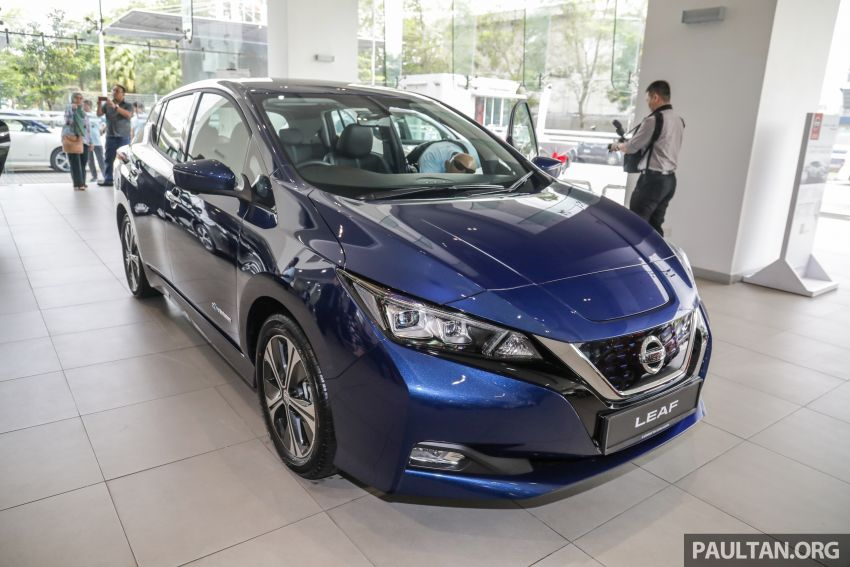 2019 Nissan Leaf launched in Malaysia – from RM189k Image #991250