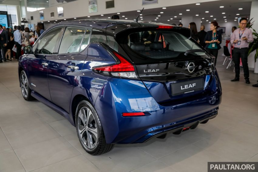 2019 Nissan Leaf launched in Malaysia – from RM189k Image #991251