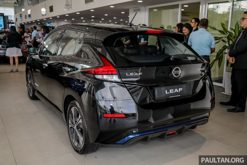 2019 Nissan Leaf launched in Malaysia – from RM189k Image #991253