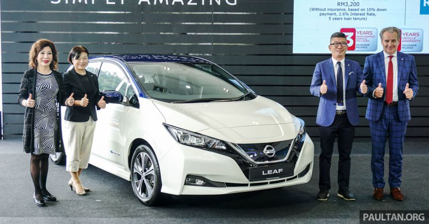2019 Nissan Leaf launched in Malaysia – from RM189k Image #991156