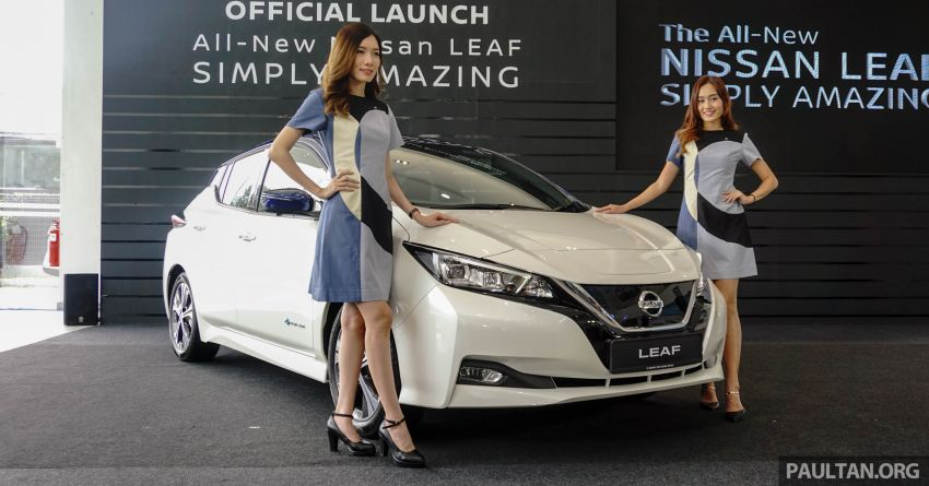 2019 Nissan Leaf launched in Malaysia – from RM189k Image #991157
